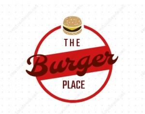 לוגו למסעדת המבורגרים
