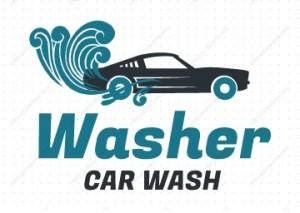 לוגו לשטיפת רכבים